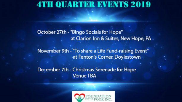 2019 4th Quarter Events