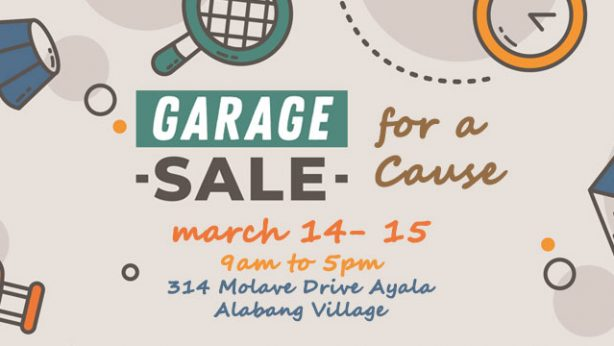 Garage Sale for a Cause